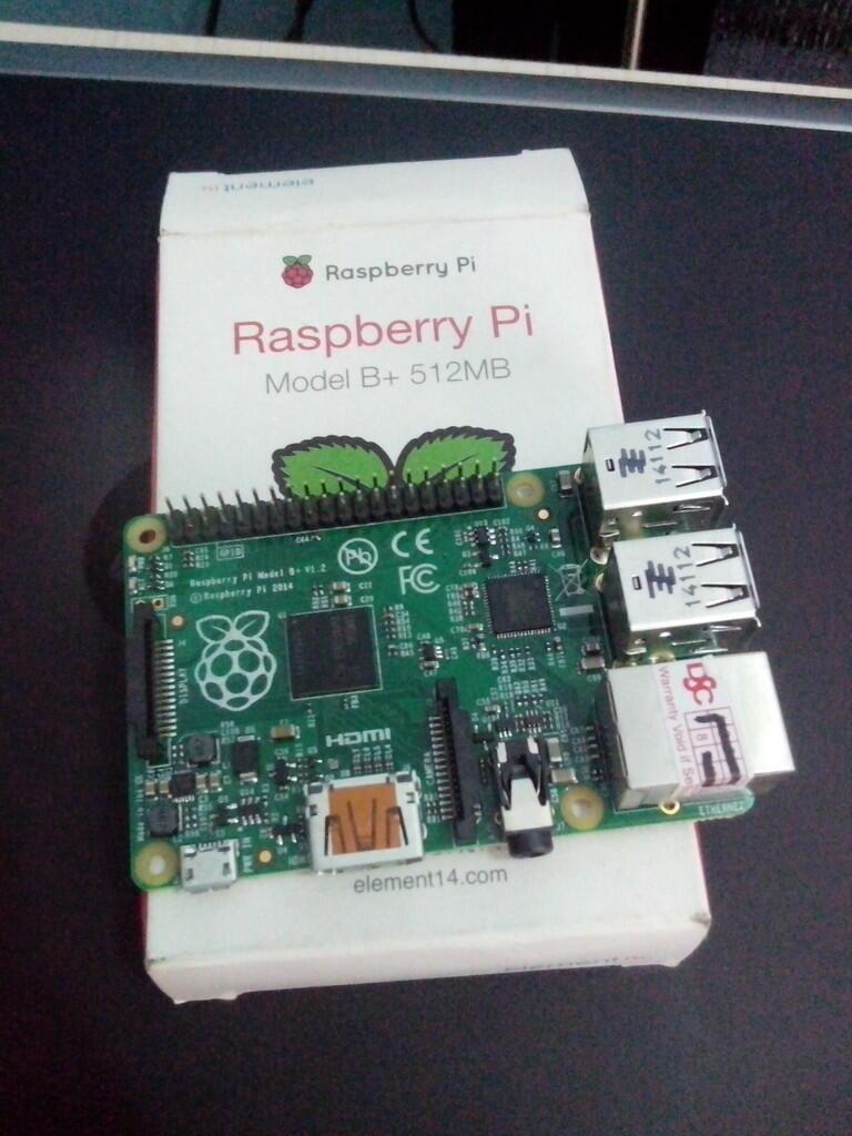 2nd Raspberry Pi B+ Murmer gan..