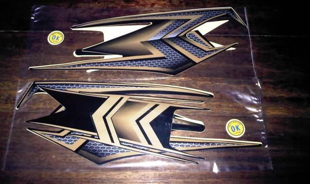 Striping / Stiker Yamaha RX-KING Blackgold SE anniversary