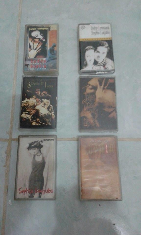 JUAL KASET INDONESIA POP - ROCK PART II