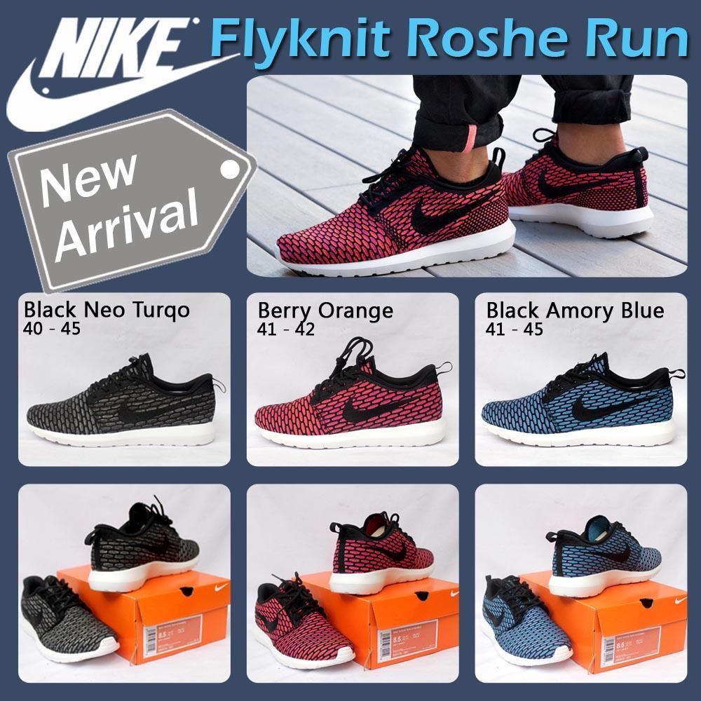 buy online 41471 39f3a ... canada jual sepatu nike roshe run flyknit e44a6 334e1