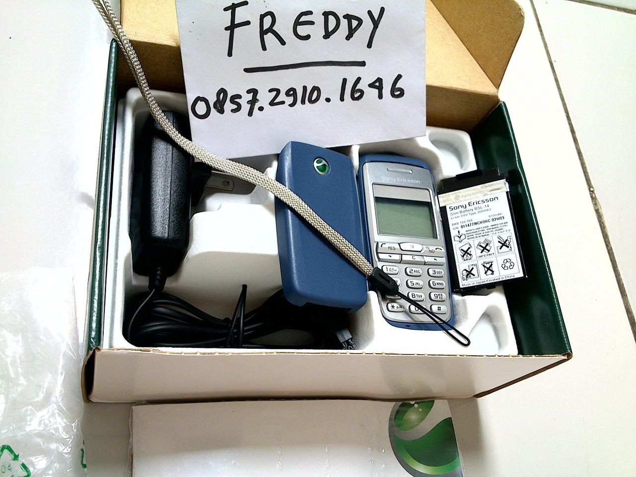 Terjual BNOB Superfullset From Hungary Sony Ericsson T600