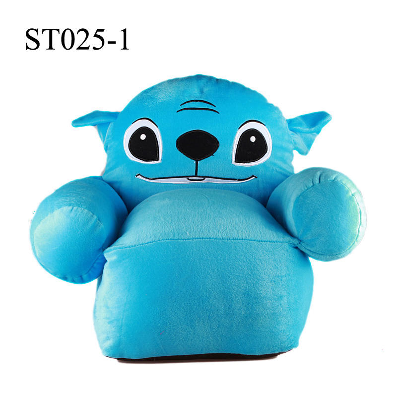 Sofa, Mainan Anak, Kursi, Karakter Doraemon, Hello Kitty, Angry Birds, Stitch