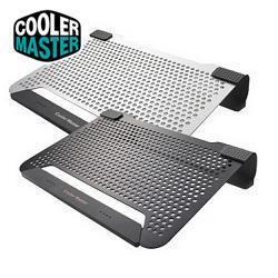 [MVPcomp] RCooler Master Notepal U STAND,Notepal L1,Notepal U1 Black / Silver