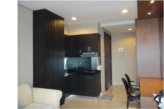 sewa apartement kemang mansion 1br type new brand