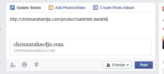 [ask]Yg pake hosting Niagahoster sukses share content ke FB