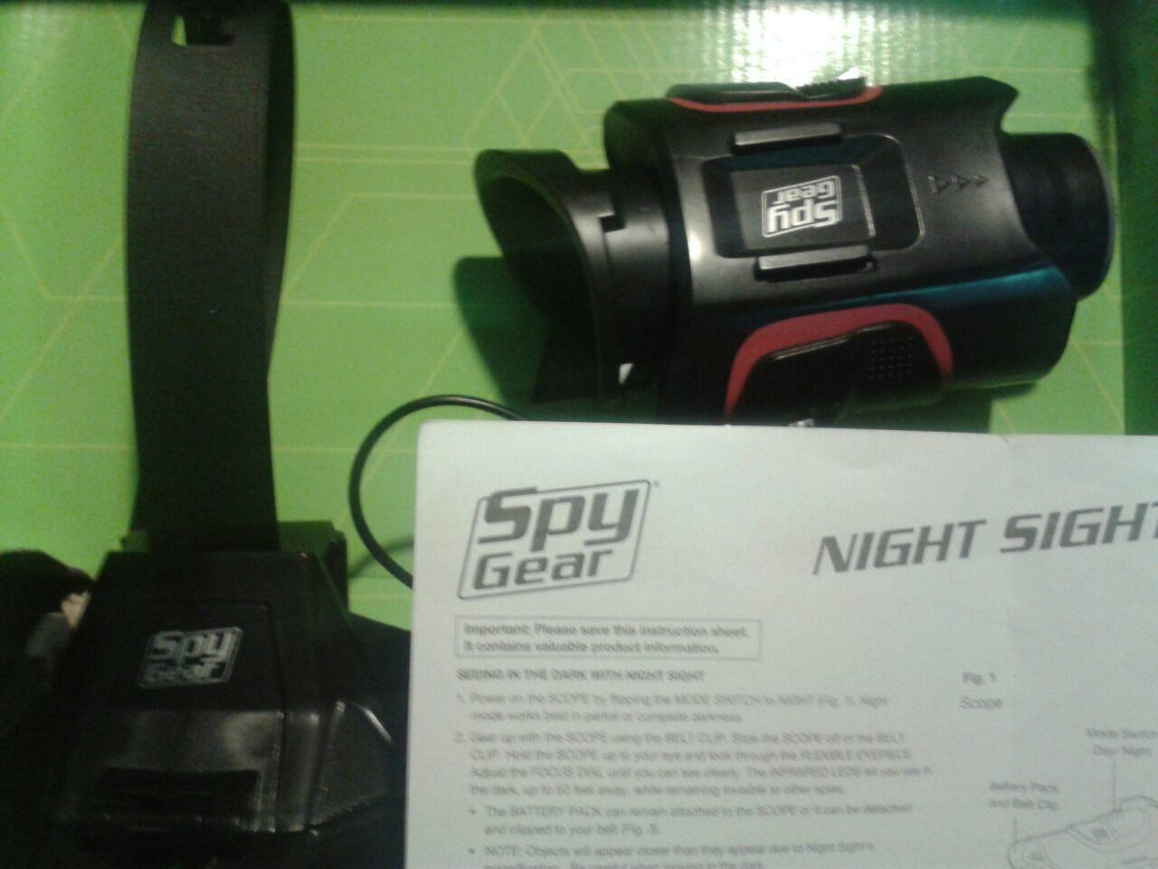 Terjual FOR SALE SPYGEAR HANDSFREE NIGHT VISION  bd50c0e255