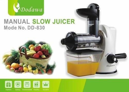 Terjual [MANUAL SLOW JUICER] DODAWA Alat Pembuat Jus Buah, Sayur dan Biji-bijian DD-830 KASKUS