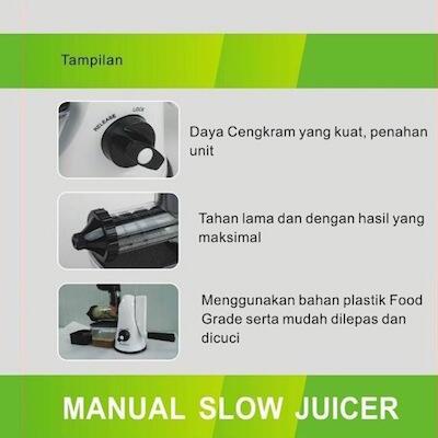 Dodawa Manual Slow Juicer Dd830 : Terjual [MANUAL SLOW JUICER] DODAWA Alat Pembuat Jus Buah, Sayur dan Biji-bijian DD-830 KASKUS