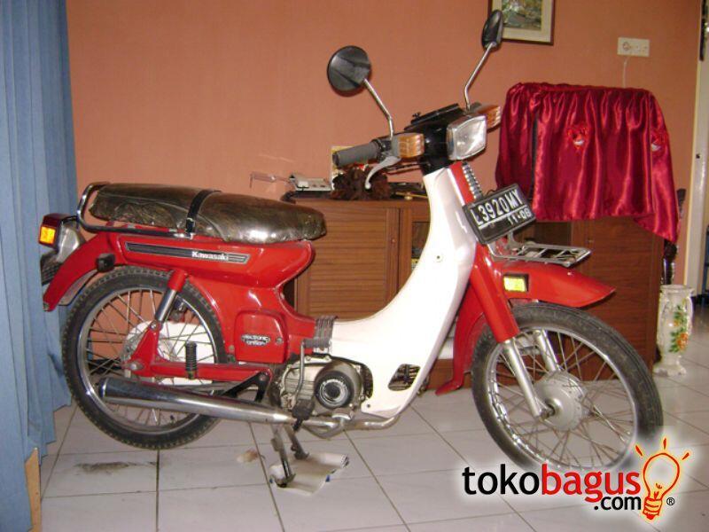 Sejarah Perjalanan Sepeda Motor Merk Binter (Kawasaki) di