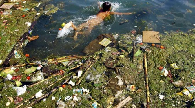 Potret Polusi di Tiongkok yang Mencengangkan !!!