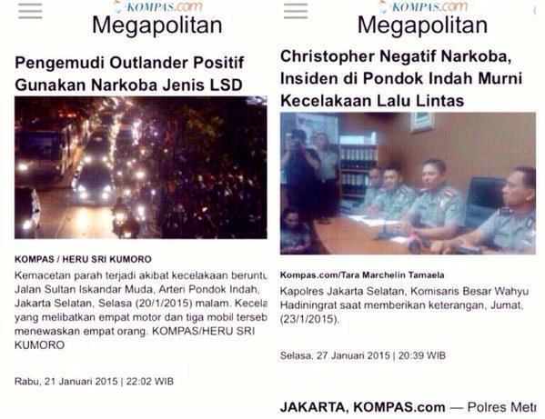 HEBATNYA POLISI KITA HASIL TES URINE AJA BISA BERUBAH!!!!!