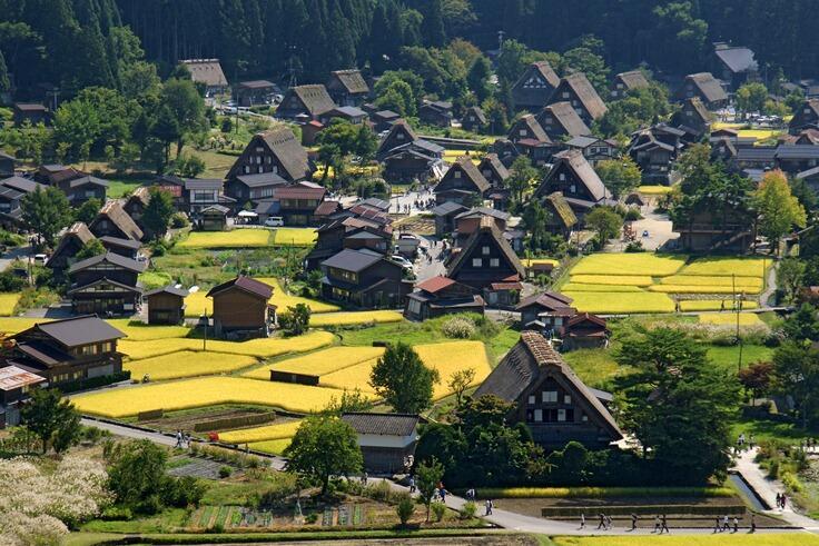 Menikmati Jejak Masa Lampau di Desa Tradisional Shirakawago