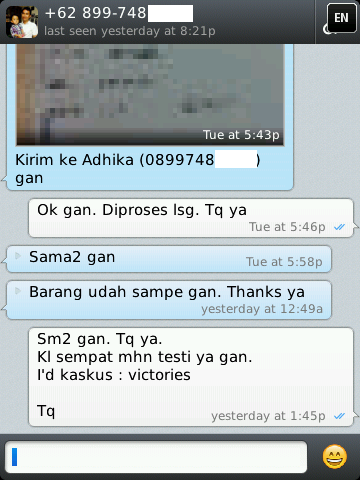 TESTIMONIAL FOR VICTORIES