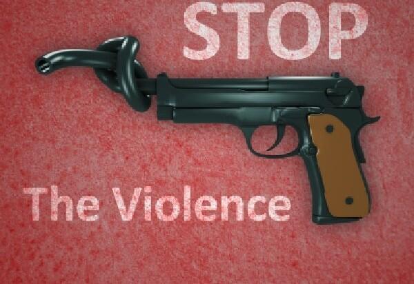 No Sara ( #ChapelHillShooting ) Stop Violance ( Standar Ganda )