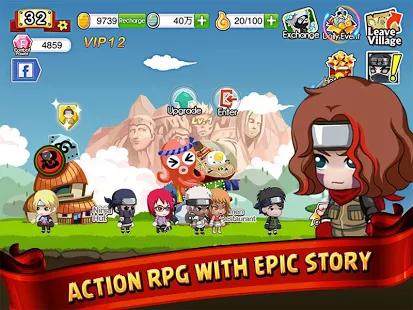 [Android] Ninja Heroes : Best Naruto RPG online games