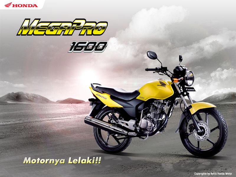 Sejarah Perjalanan Honda GL-Pro Hingga Megapro di Indonesia
