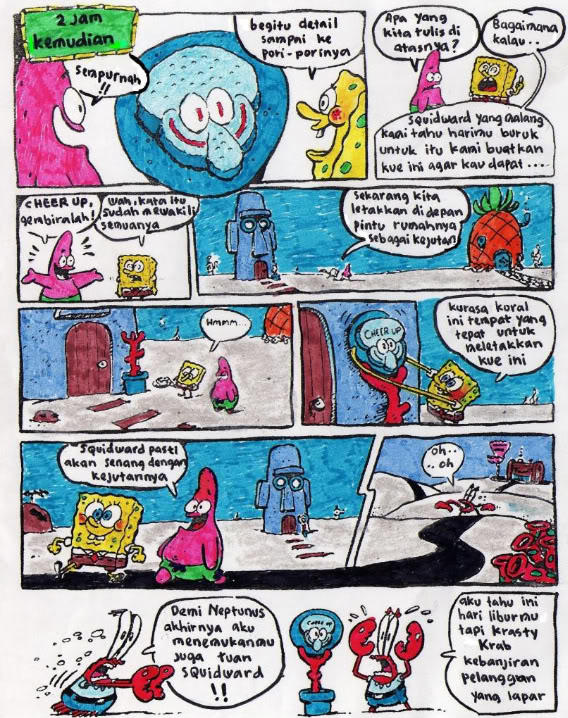 Komik Spongebob Lucu Abis Kaskus
