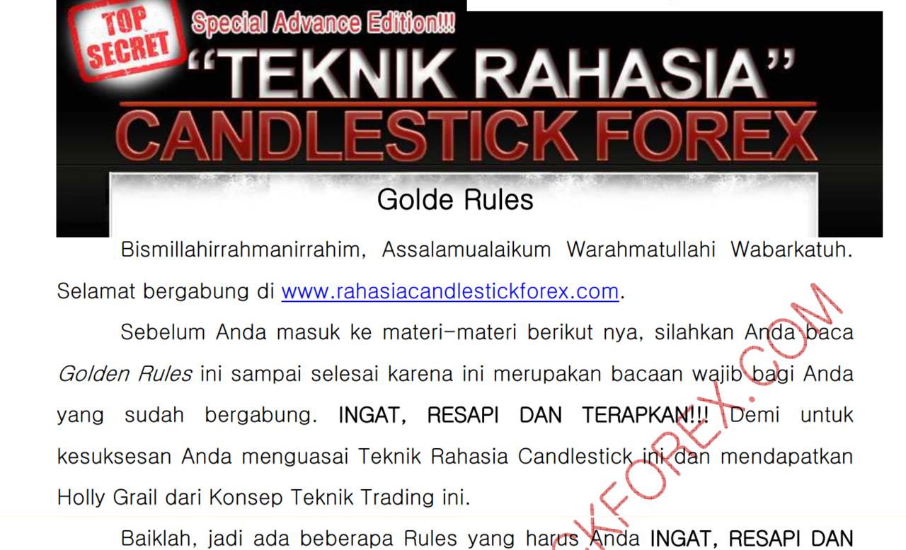 Rahasia candlestick forex pdf