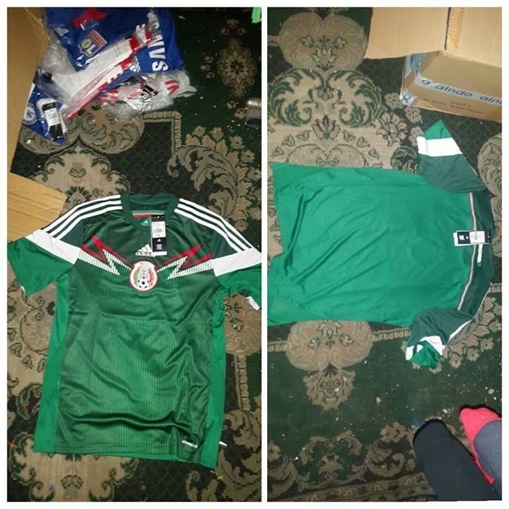 Jersey Original Adidas Jepang Rusia Argentina Spanyol Mexico 2014 WOrld CUp 1c6c05691c349