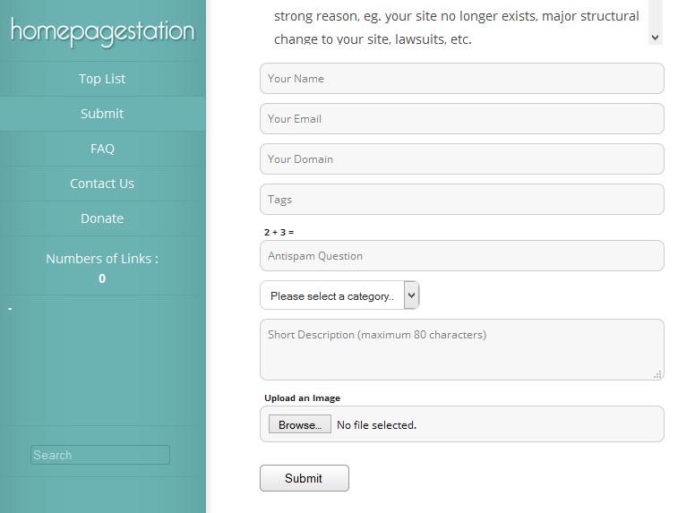 Dapatkan Pulsa Gratis 10rb dg Mendaftarkan Website agan di Homepagestation.com