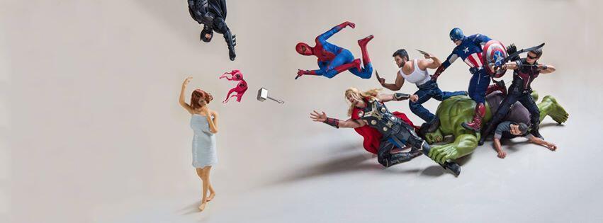 Potret Superhero Edisi Genit, Fotografer Indonesia Hebohkan Hollywood