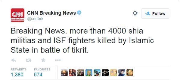 [HITUNG MUNDUR BERSAMA] Tikrit Akan Dibebaskan Dalam 72 Jam Kedepan :)