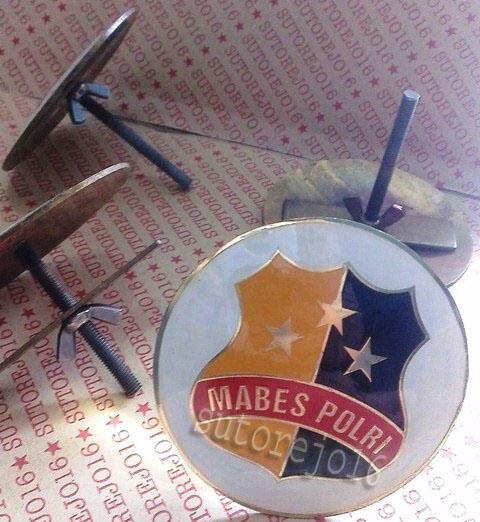 emblem grill (logo mabes tni, mabes polri, garuda, perbakin),,,