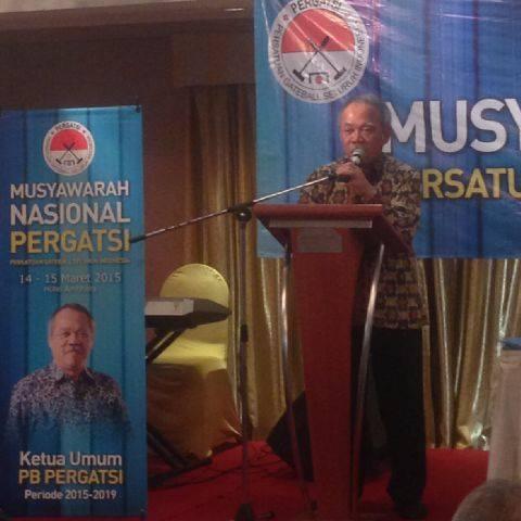 Musyawarah Nasional I (pertama) Persatuan Gateball Seluruh Indonesia (PERGATSI
