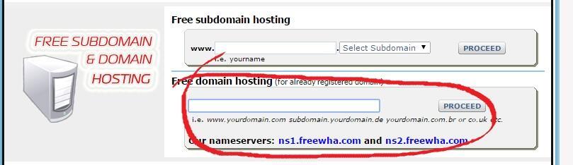 ask?? apa bisa domain berbayar mengunakan hosting gratisan (freewebhostingarea.com).