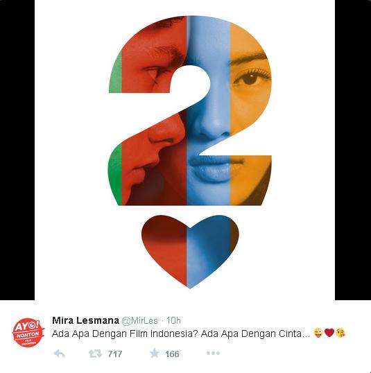 Film Ada Apa Dengan Cinta 2 Bakal Dibikin?