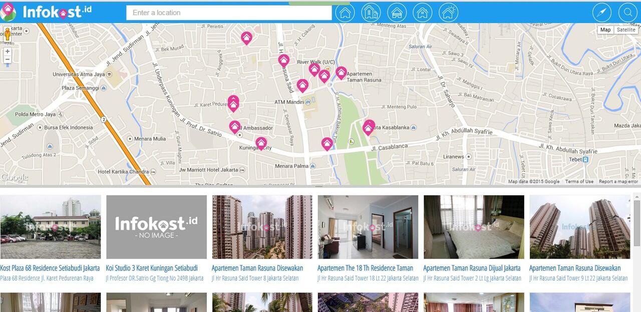 Kerennya Map Infokost Bikin Nyari Kost Lebih Gampang dan Informatif