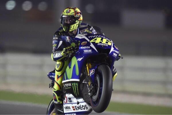 Valentino Rossi Juara Di Race Pembuka MotoGP 2015
