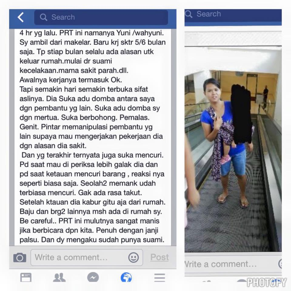 Jual Bokep Anak Kecil kumpulan screen shot ttg PRT / SUS yg nga bagus reputasinya