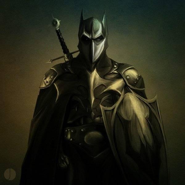 [Keren Gan!] Wujud Batman Jika Dia Hidup Di Masa Yang Berbeda-Beda!