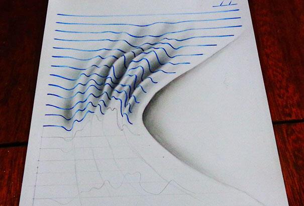 Lukisan 3D Ini Dibikin Sama Bocah Gan!!!