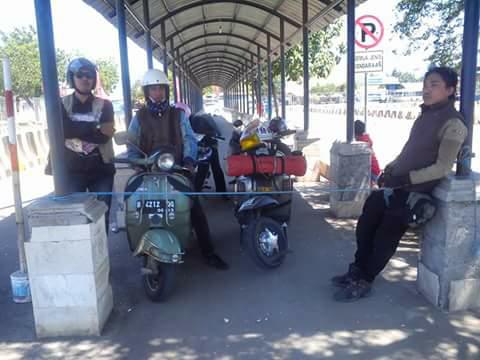Suka Vespa & Perjalanan? Forum Komunikasi Scooterist Tangerang Selatan Road To Lombok