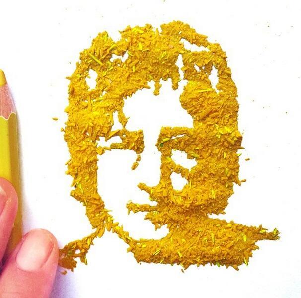 Bubuk Pensil Aja Bisa Dijadikan Kreativitas Oleh Guru Ini Gan!!!