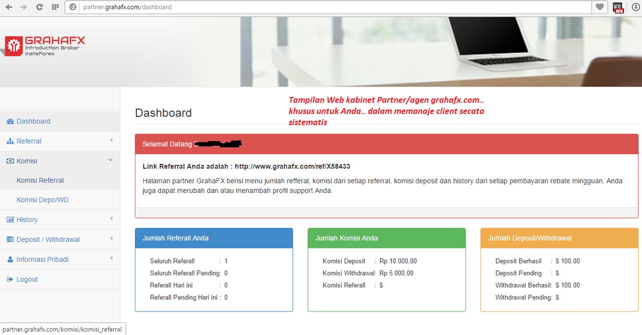 [instaforex] DICARI Partner / Agen di IB Resmi Instaforex - GrahaFX.com