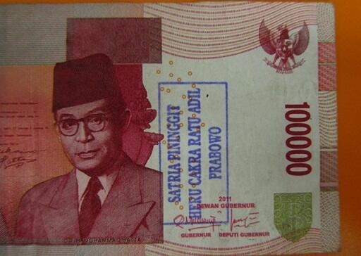 Perlakuan Kurang Baik Orang Indonesia Terhadap Uang