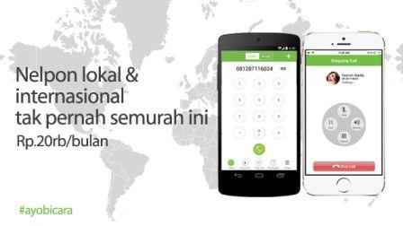Aplikasi Buatan Lokal Ini Canggih Banget Gan, Solusi Buat Agan yg Pengen Nelpon Murah