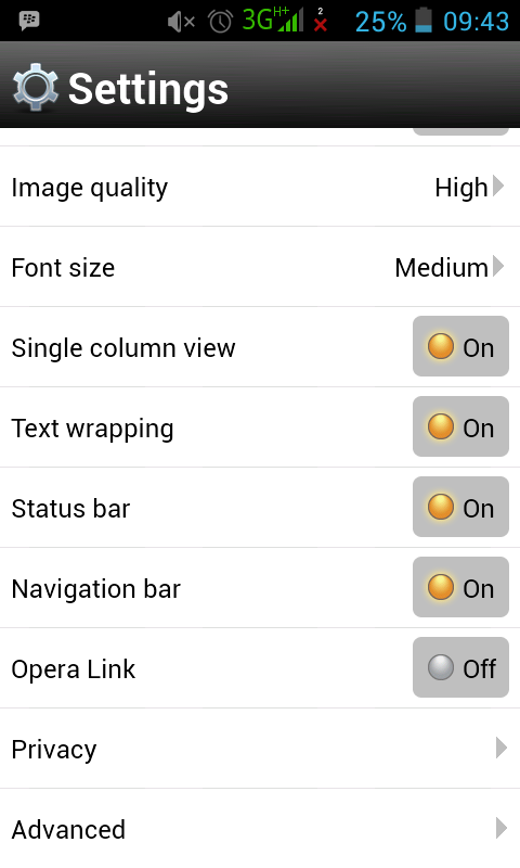 Solusi Quick Reply Error Untuk Opera Mini