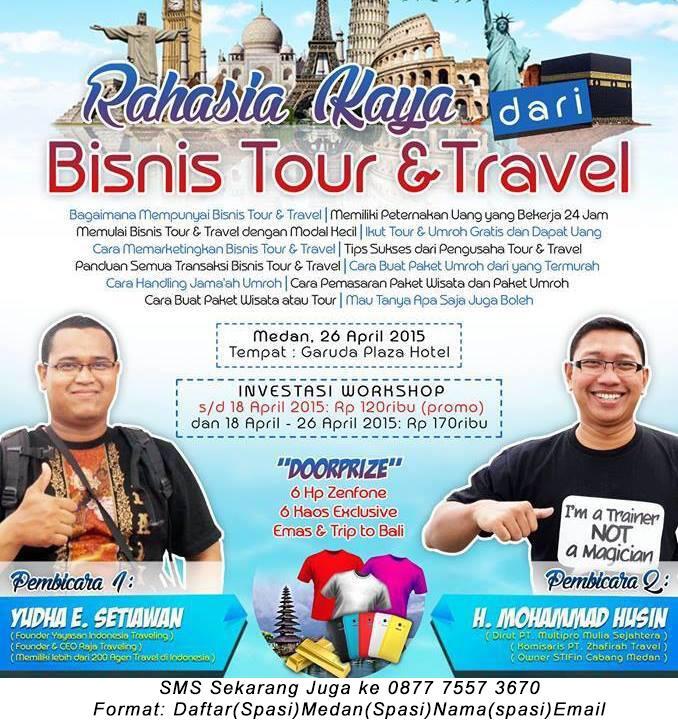 Cara Mudah Buka Bisnis Tour & Travel di Medan