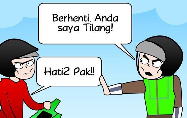 Otong dan Pak Polisi Story Gans! [[ Masuk Gans!!! ]]