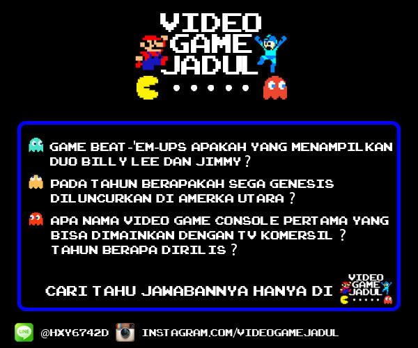 Video Game Jadul - Trivia, Character Quotes, Hint, and many more. . .