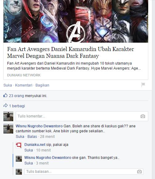Fans Ubah The Avenger jadi karakter bertema Medieval Dark Fantasy