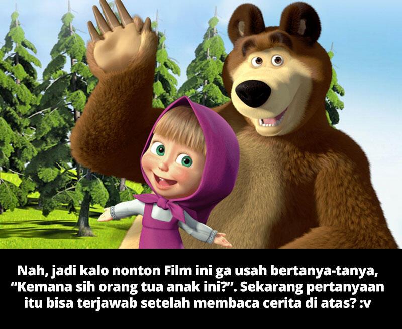 Siapa orang tua Masha & the Bear? Cek faktanya disini! - Suka DotA? Masuk!!