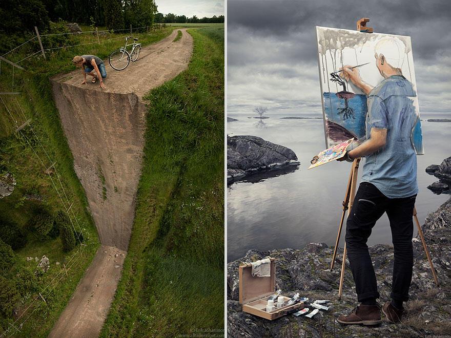 Brilliant Manipulasi Foto Dari Erik Johansson