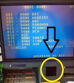 Hati-Hati Modus penipuan Lewat Stiker Di Mesin ATM