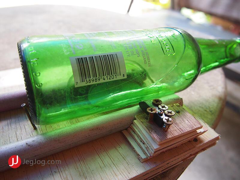 trik memotong botol kaca jadi gelas