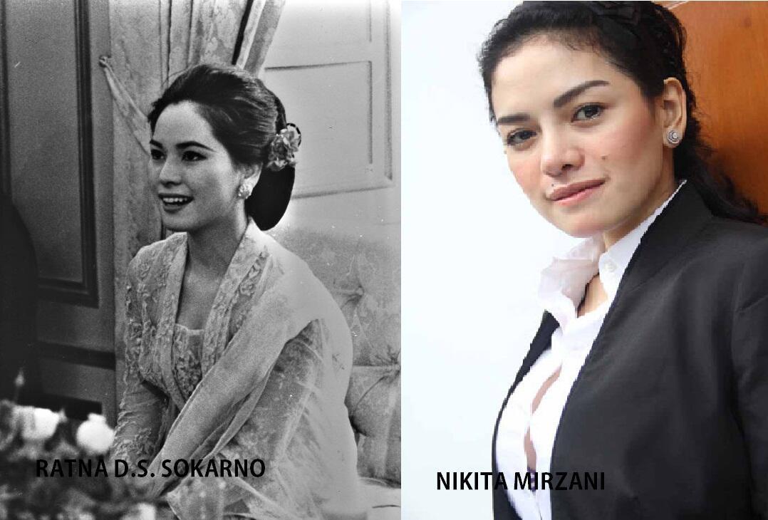 Istri-istri Soekarno yang mirip wanita di jaman sekarang